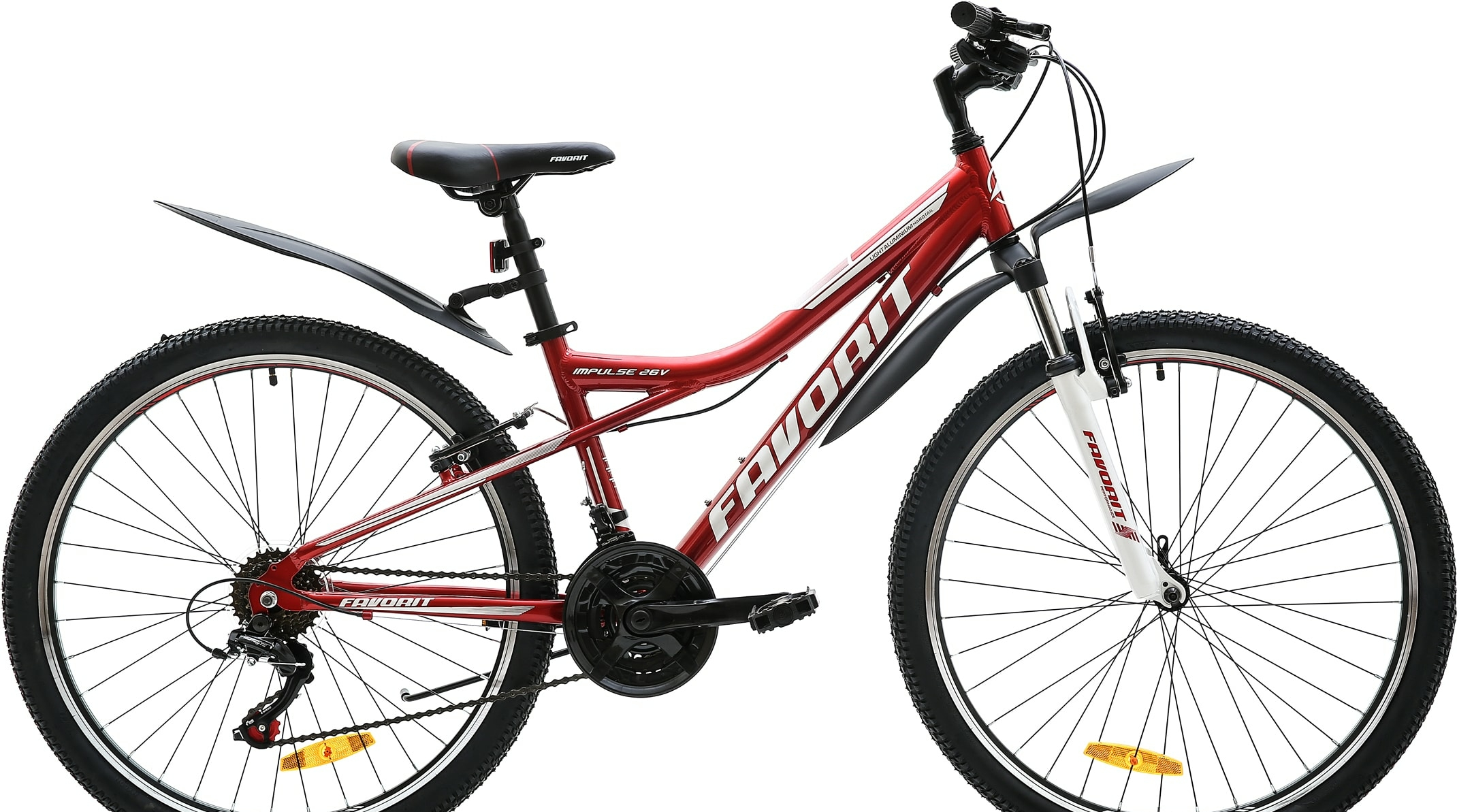 Велосипед Favorit Impulse 26 V 2020 (красный)