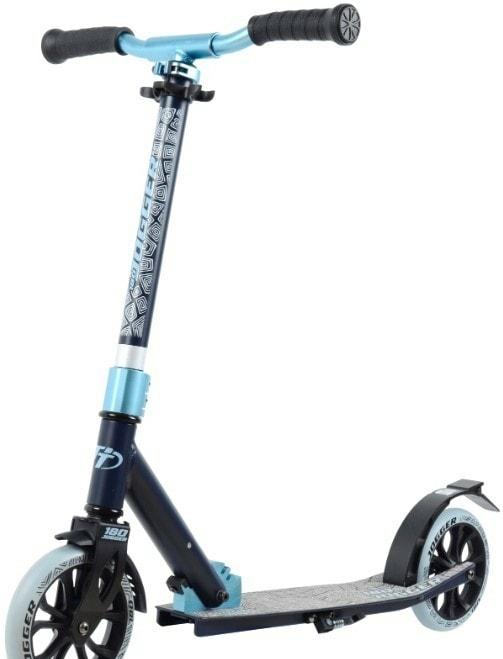 Самокат Tech Team Jogger 180 2020 (черный/голубой)