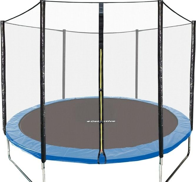 Батут GetActive Jump 6ft — 183 см с сеткой (синий)