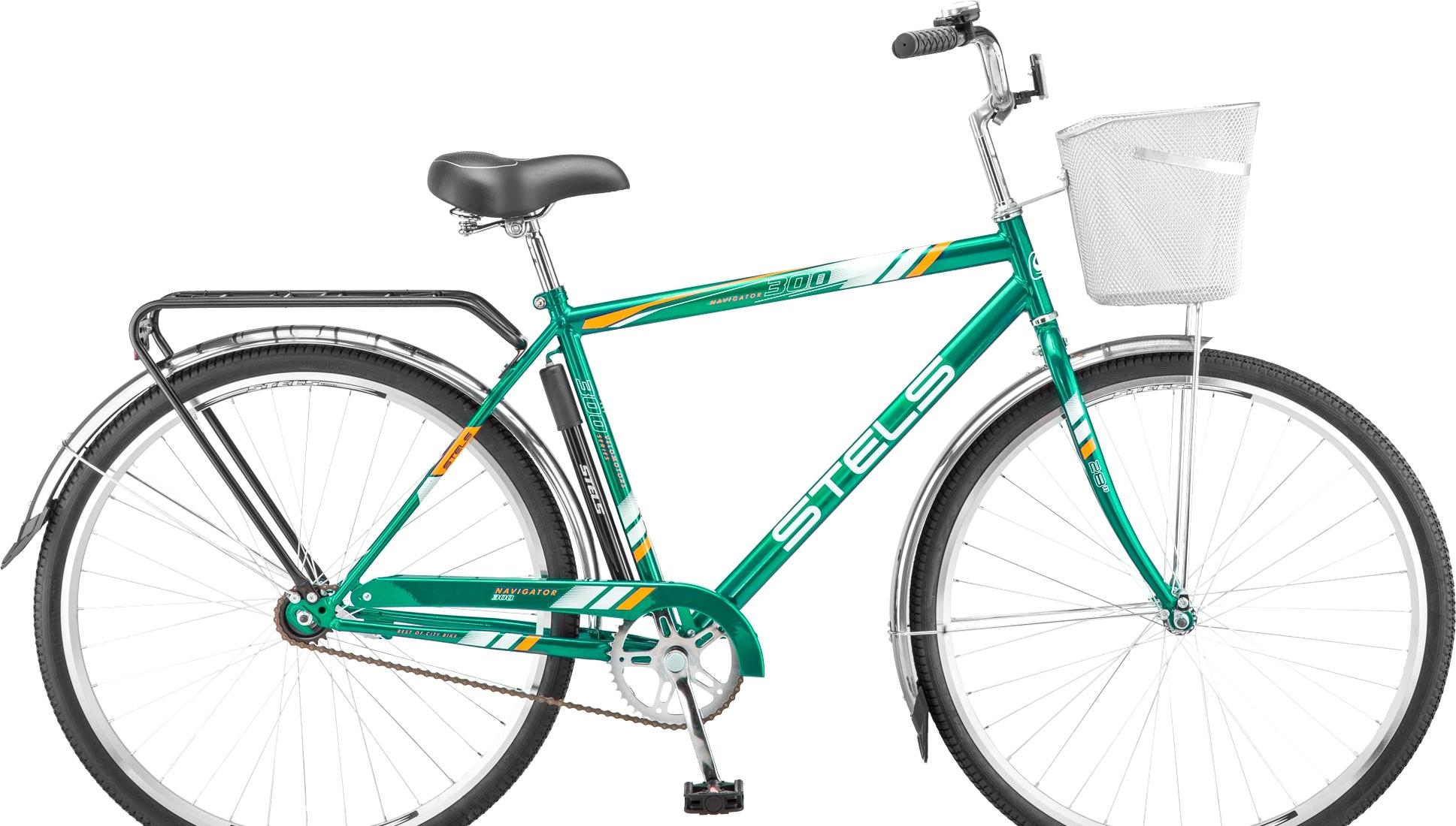 Велосипед Stels Navigator 300 Gent 28 Z010 (зеленый, 2019)