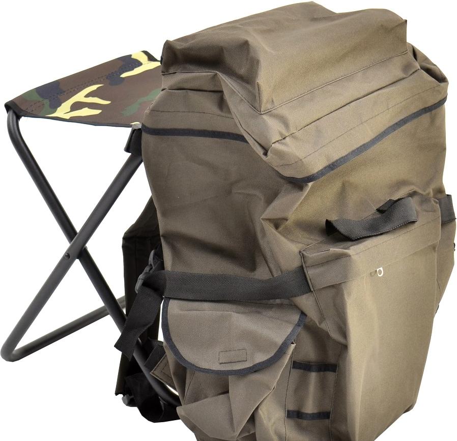 Табурет НПО Кедр Складной средний (рамка в рамку) с рюкзаком STS-04
