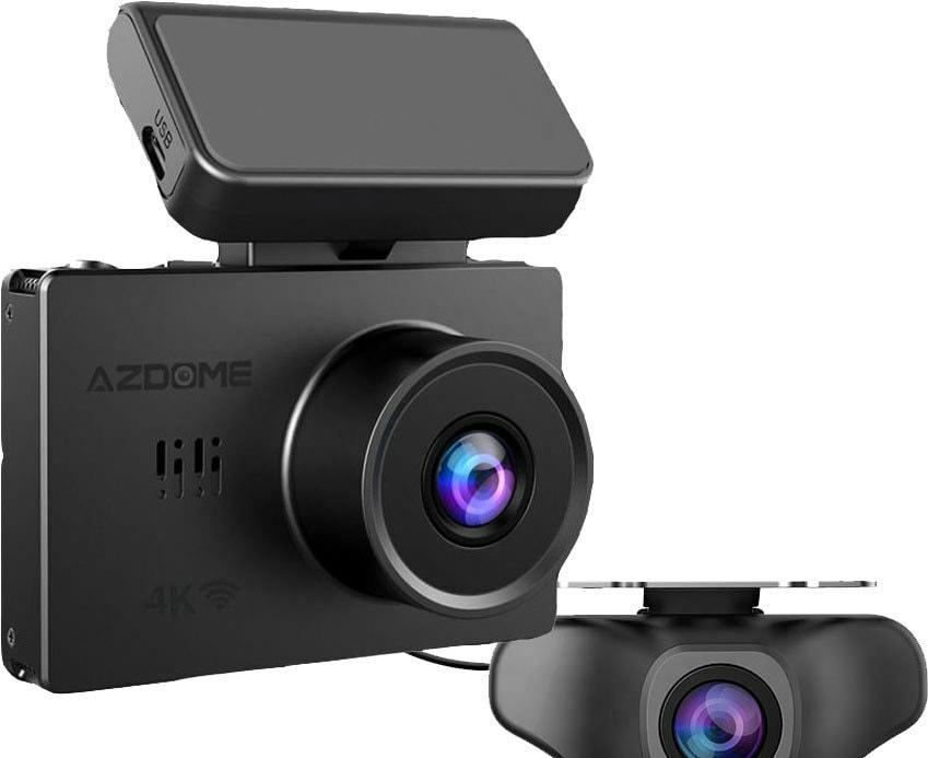 Видеорегистратор-GPS информатор (2в1) AzDome M10 Pro (с задней видеокамерой)