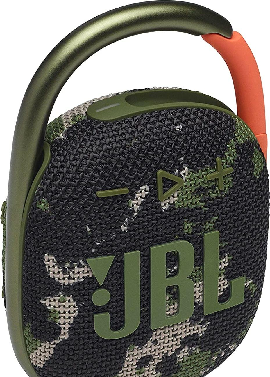 Беспроводная колонка JBL Clip 4 (камуфляж)