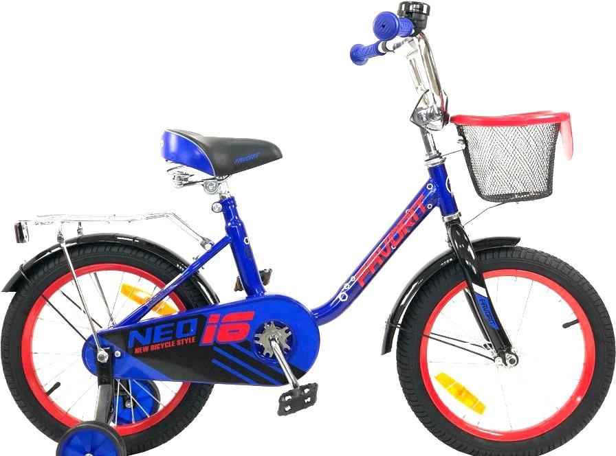 Детский велосипед Favorit Neo 16 (синий, 2019)