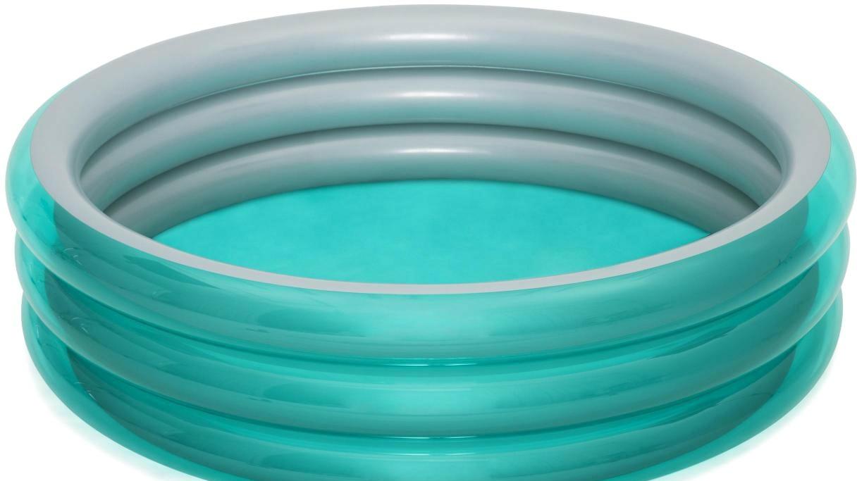 Надувной бассейн Bestway 51043 (201×53, металлик)