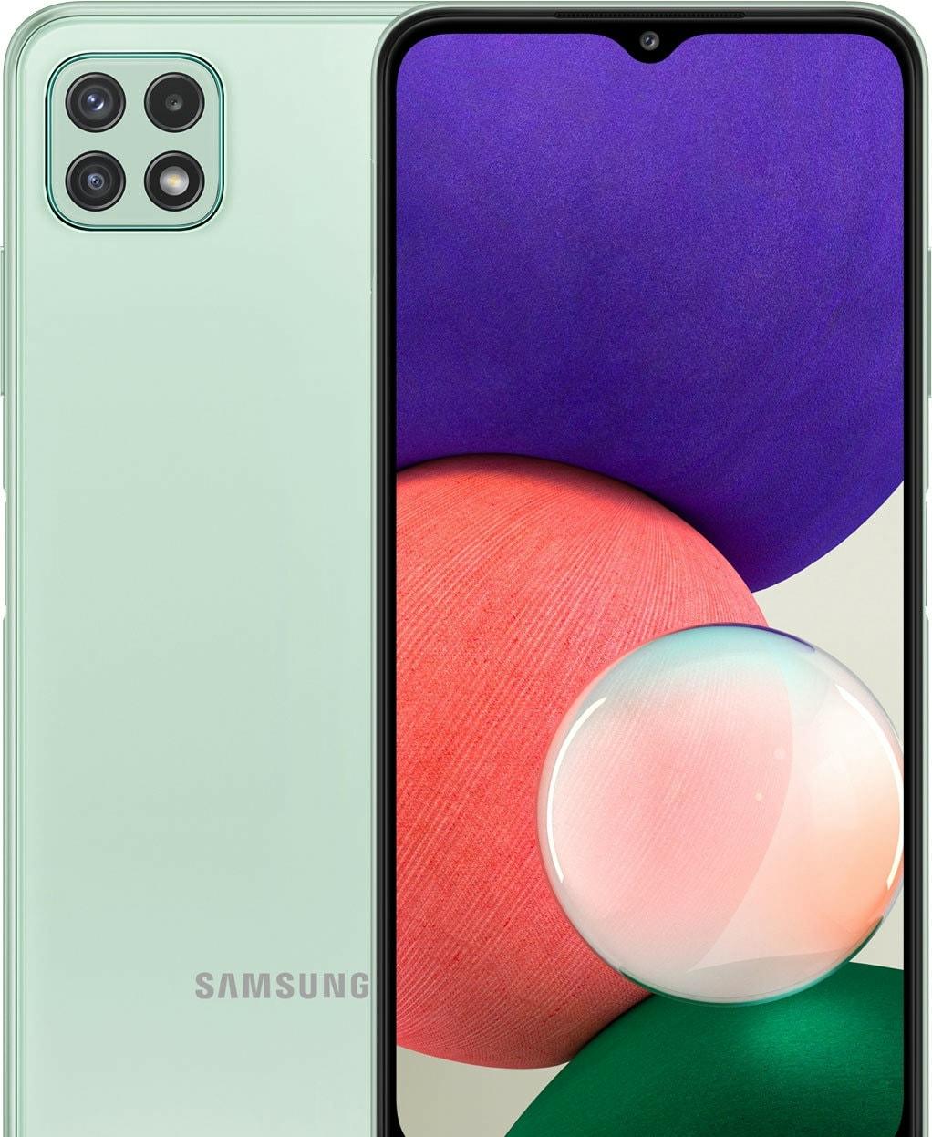 Смартфон Samsung Galaxy A22 5G SM-A226/DS 4GB/128GB (мятный)