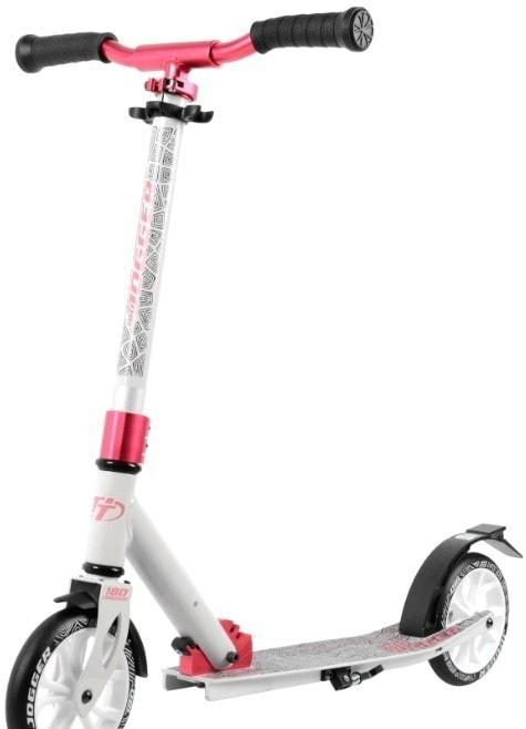 Самокат Tech Team Jogger 180 2020 (белый/розовый)