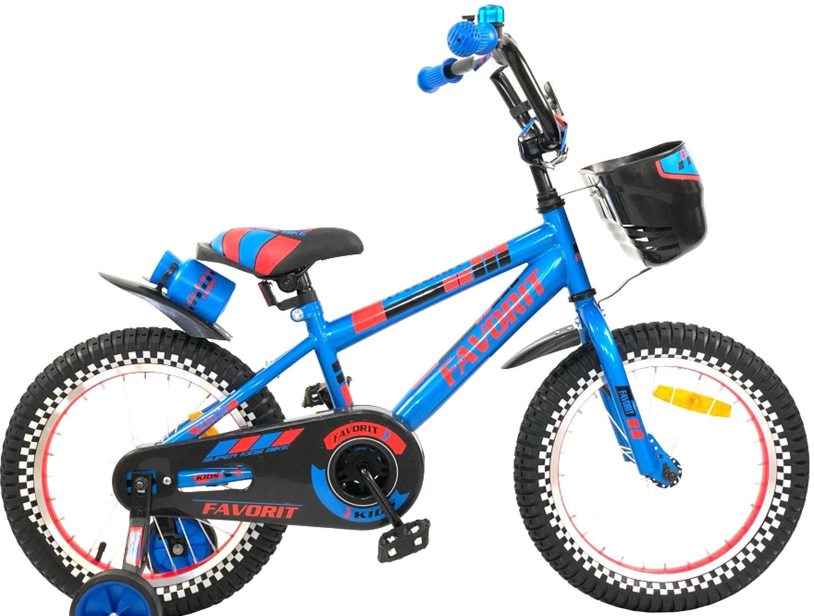 Детский велосипед Favorit Sport 14 (синий, 2019)