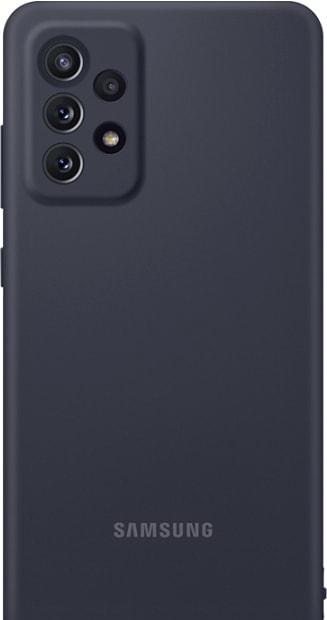 Чехол для телефона Samsung Silicone Cover для Samsung Galaxy A72 (черный)