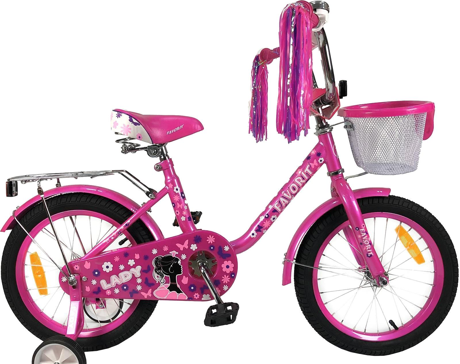 Детский велосипед Favorit Lady 20 (розовый, 2019)