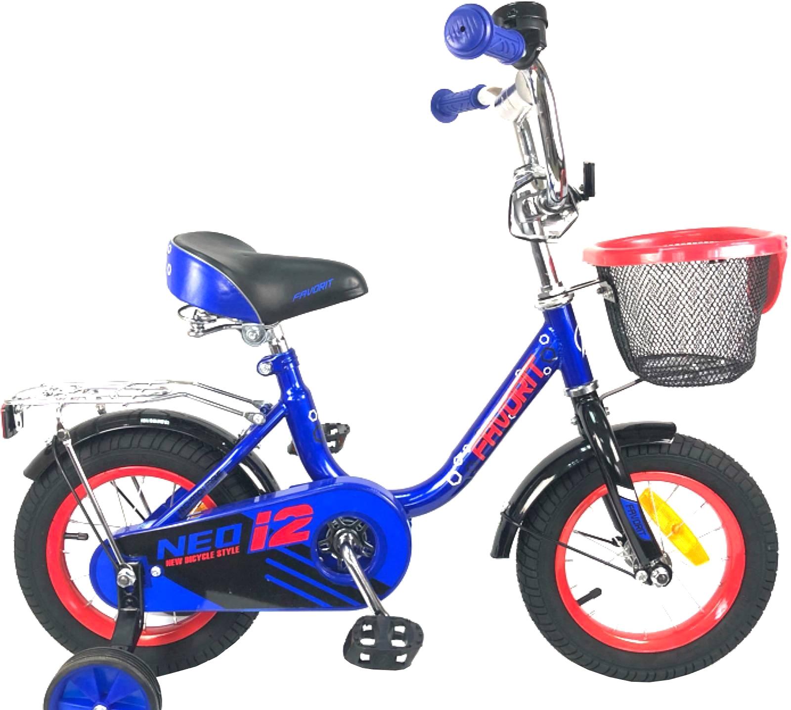 Детский велосипед Favorit Neo 12 (синий, 2019)