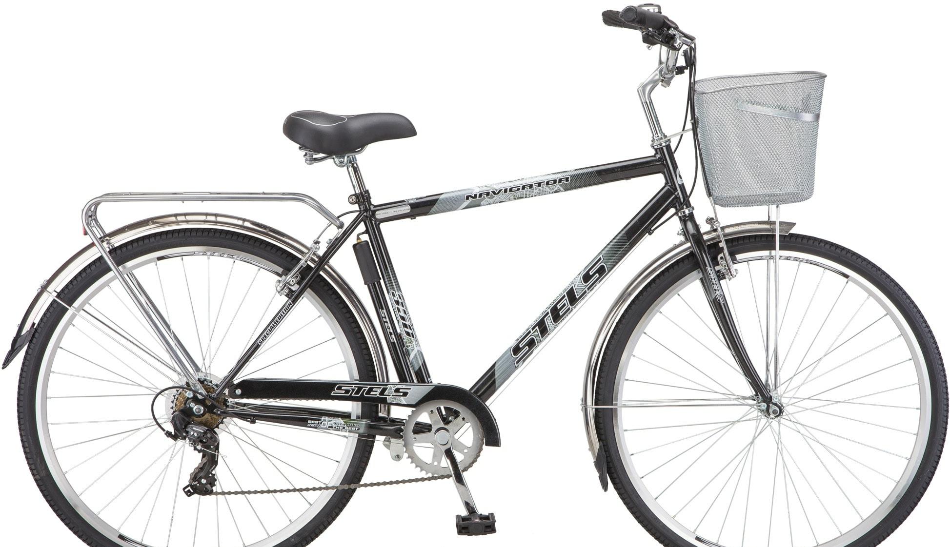 Велосипед Stels Navigator 350 Gent 28 Z010 2020 (серый)