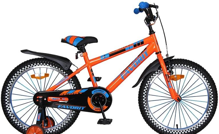 Детский велосипед Favorit Sport 20 (оранжевый, 2020)