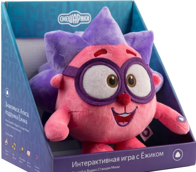 Интерактивная игрушка Яндекс Смешарики Ежик