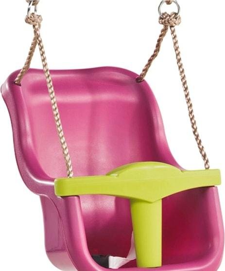 Подвесные качели KBT Luxe (фиолетовый/салатовый)