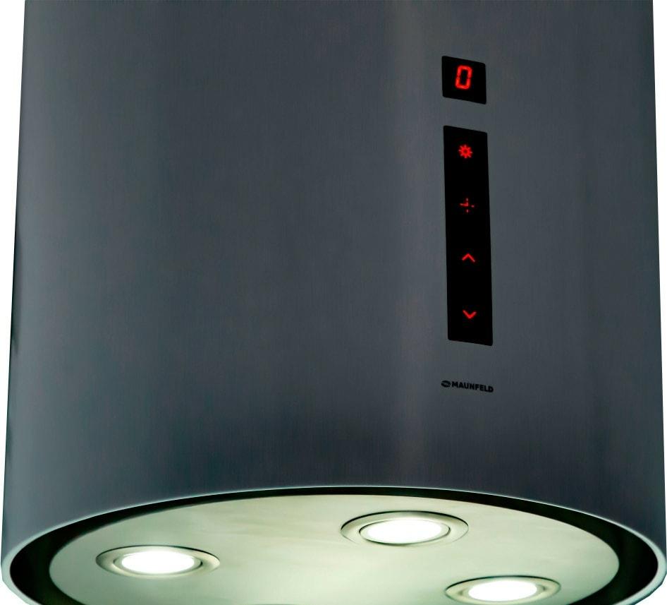 Кухонная вытяжка MAUNFELD Lee Isla sensor 39 (черный)