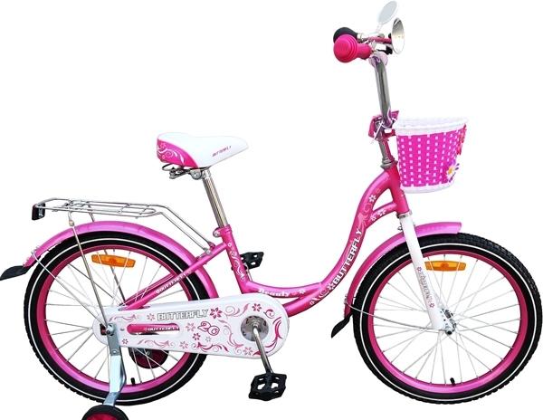 Детский велосипед Favorit Butterfly 18 (розовый, 2018)