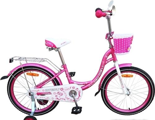 Детский велосипед Favorit Butterfly 14 (розовый, 2018)