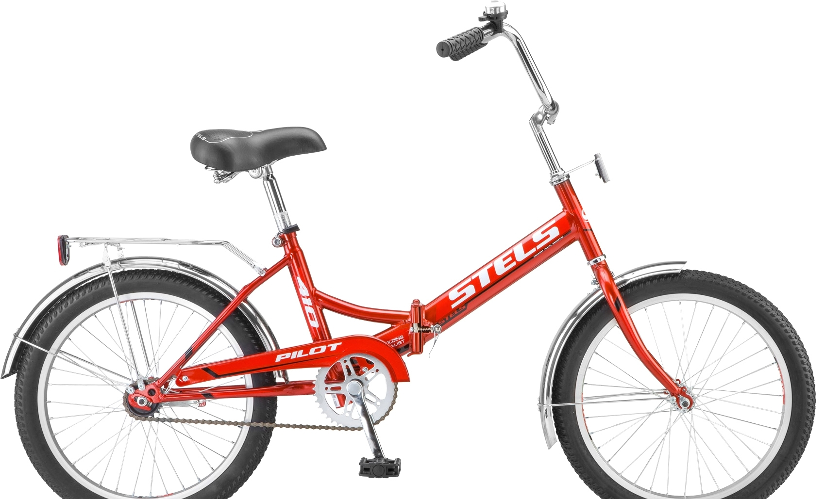 Велосипед Stels Pilot 410 20 Z011 (красный, 2018)