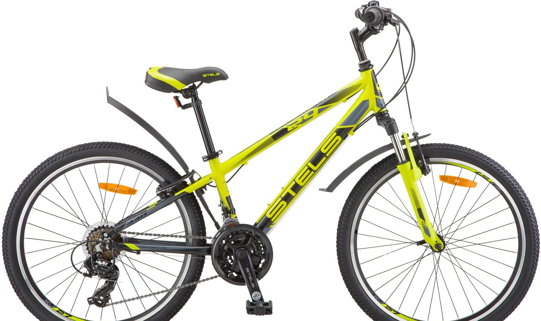 Велосипед Stels Navigator 440 V 24 V030 2020 (лайм)