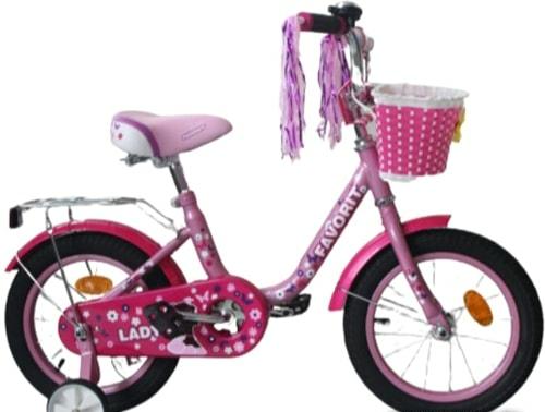 Детский велосипед Favorit Lady 14 2020 (сиреневый)