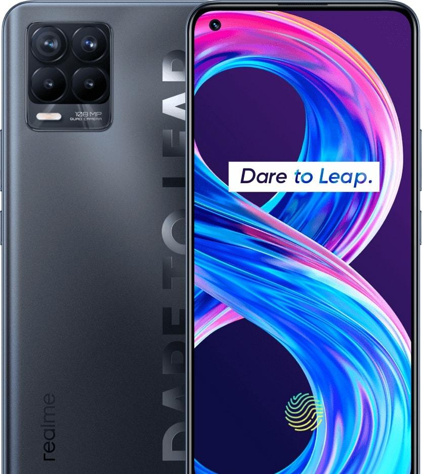 Смартфон Realme 8 Pro 6GB/128GB (бесконечный черный)