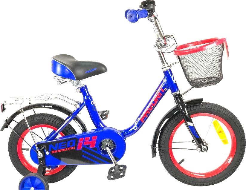 Детский велосипед Favorit Neo 14 (синий, 2019)