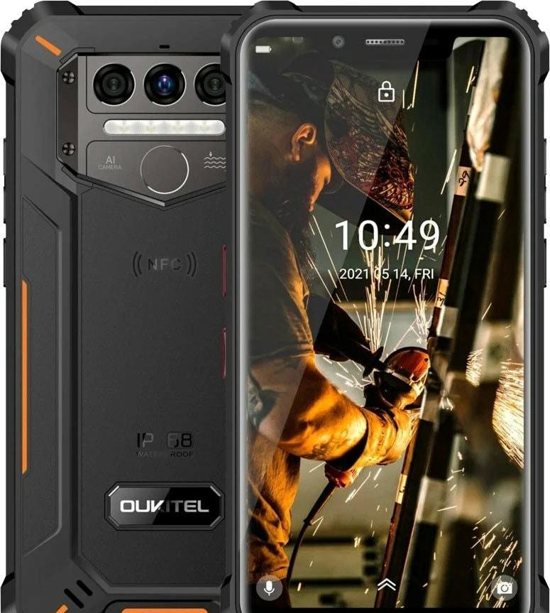Смартфон Oukitel WP9 (оранжевый)