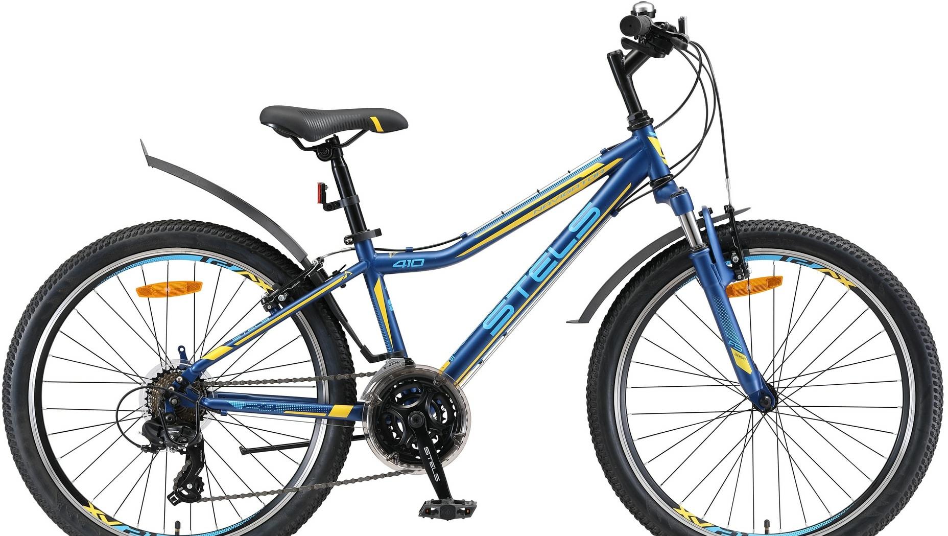 Велосипед Stels Navigator 410 V 24 21-sp V010 2020 (синий)