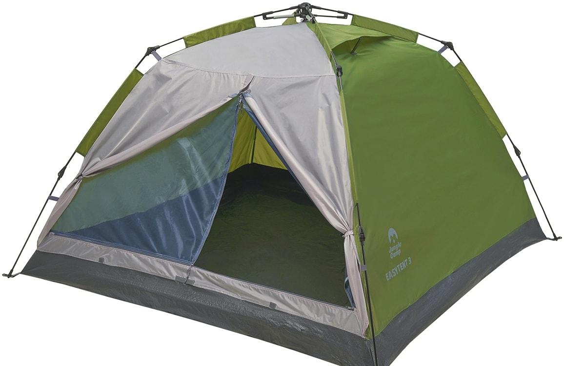 Треккинговая палатка Jungle Camp Easy Tent 2 (зеленый/серый)