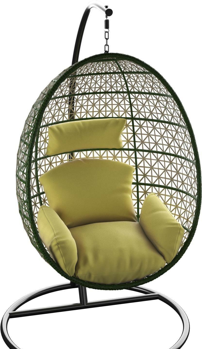 Подвесное кресло LoftyHome Miracle 1919 (olive/olive)