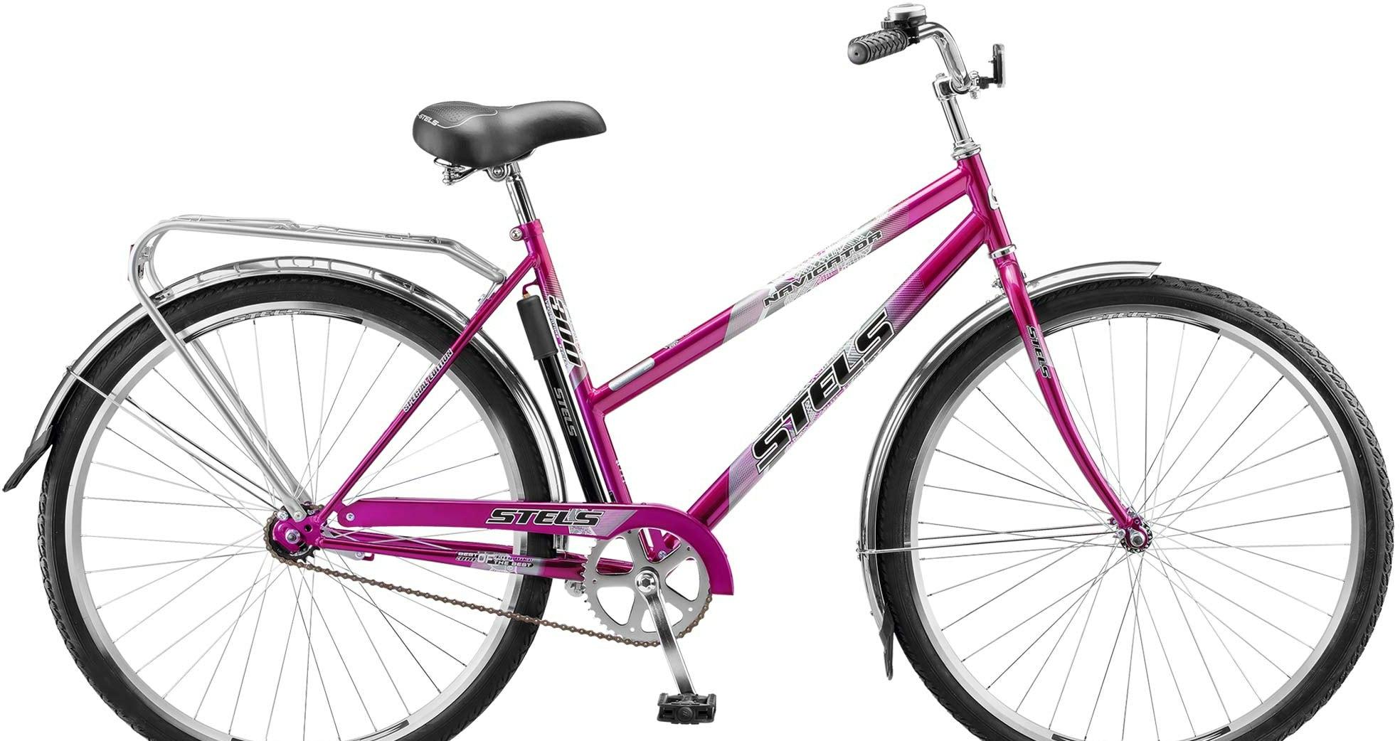Велосипед Stels Navigator 300 Lady 28 Z010 2020 (фиолетовый)