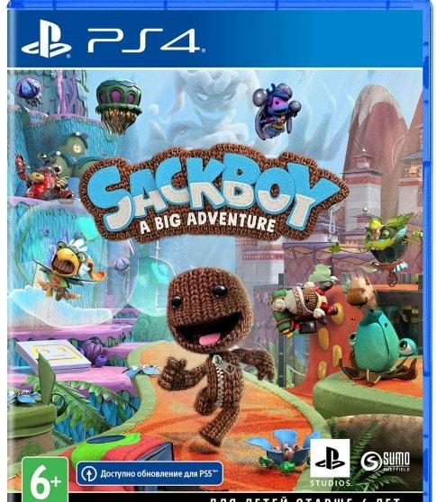 Сэкбой: Большое приключение для PlayStation 4