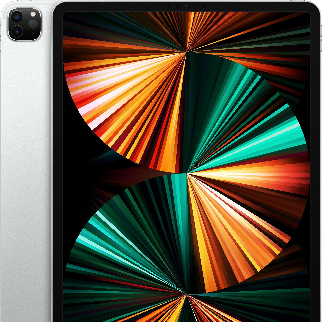 Планшет Apple iPad Pro M1 2021 12.9″ 128GB MHNG3 (серебристый)