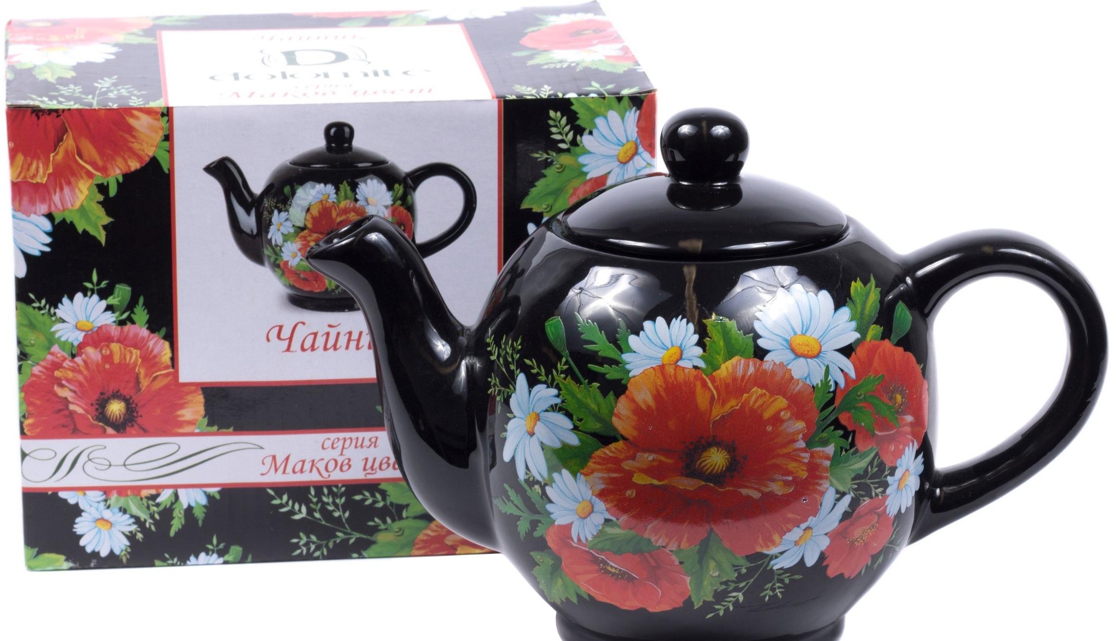 Заварочный чайник Choosing Porcelain Маков цвет L2520754