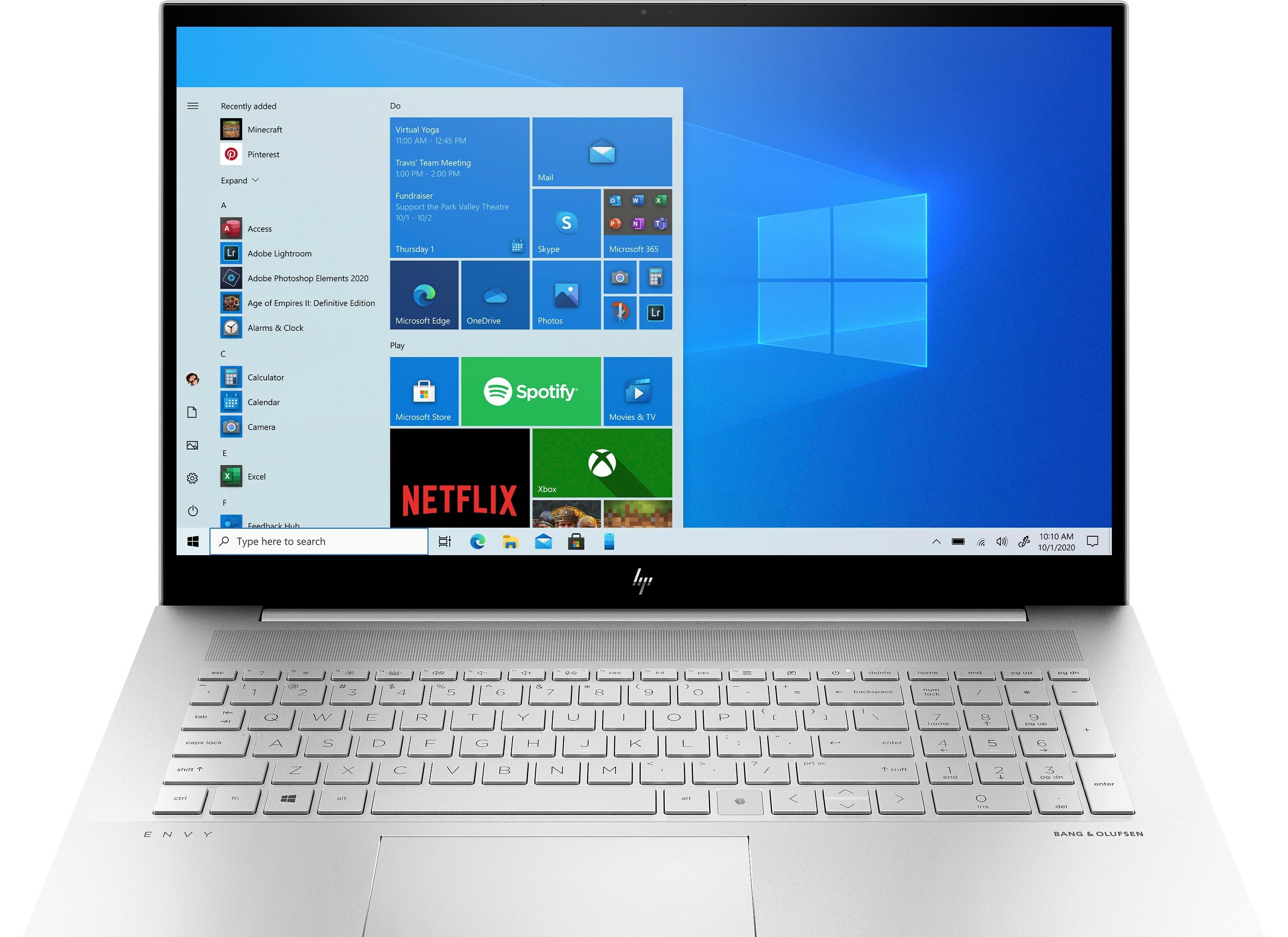 Ноутбук HP ENVY 17-ch0009ur 406A6EA