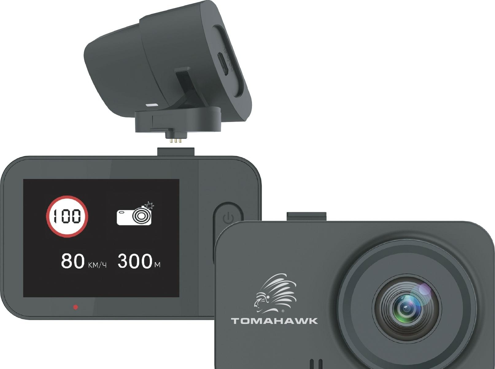 Видеорегистратор-GPS информатор (2в1) Tomahawk X2