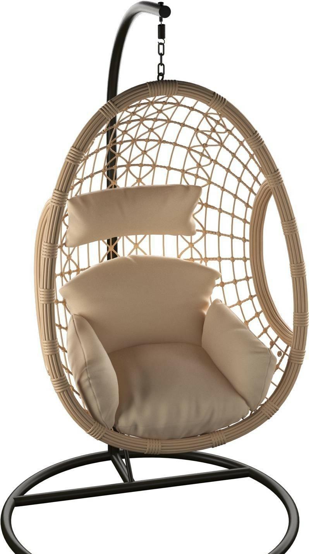 Подвесное кресло LoftyHome Morinda 1205 (natural/biege)