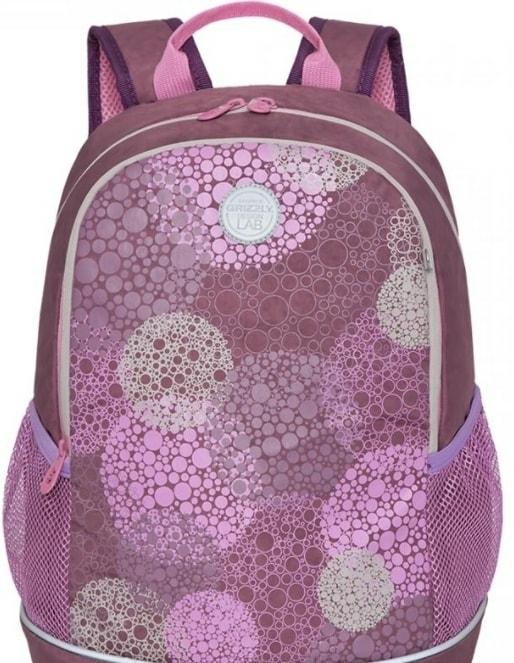 Рюкзак Grizzly RG-163-1/1 (темно-розовый)