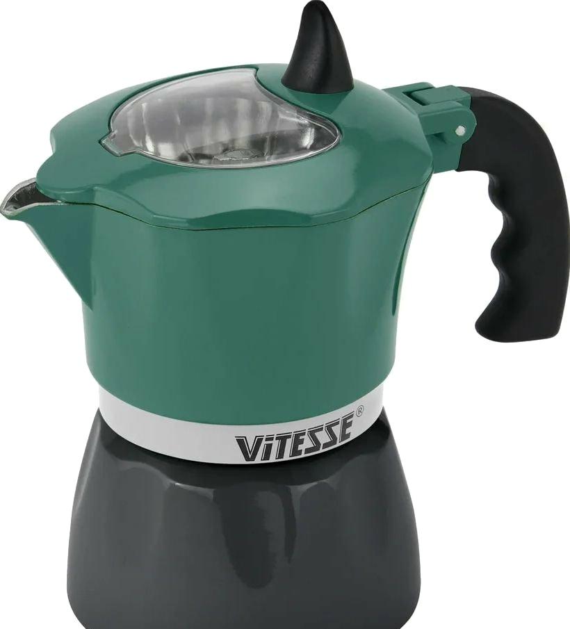 Гейзерная кофеварка Vitesse VS-2642 (зеленый)