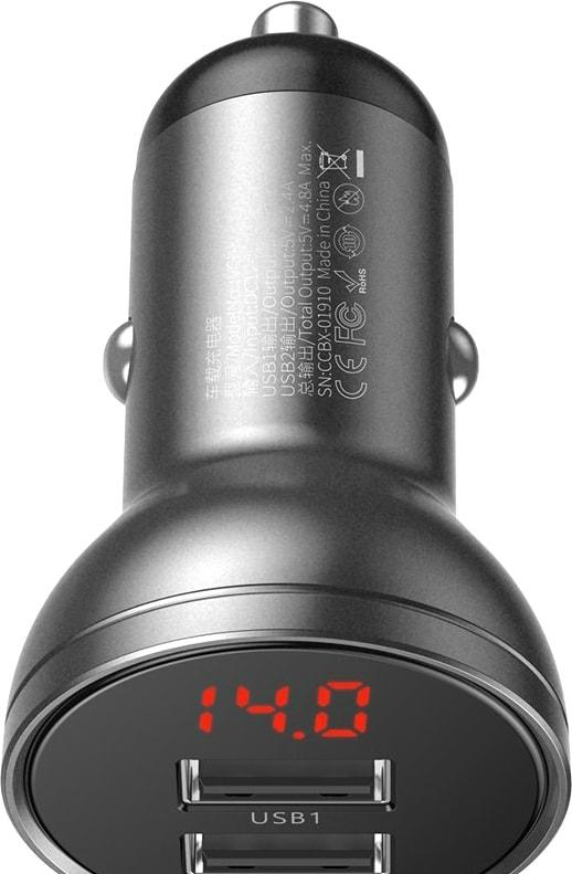 Автомобильное зарядное Baseus CCBX-0G