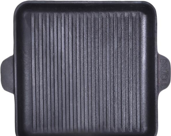 Сковорода-гриль Brizoll HoReCa гриль 180x180x25