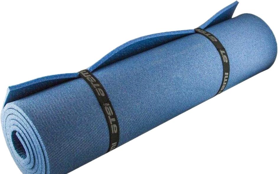 Туристический коврик Atemi 1800x600x8 мм (синий)