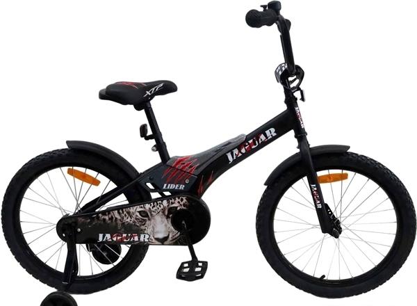 Детский велосипед Favorit Jaguar 20 (черный, 2018)
