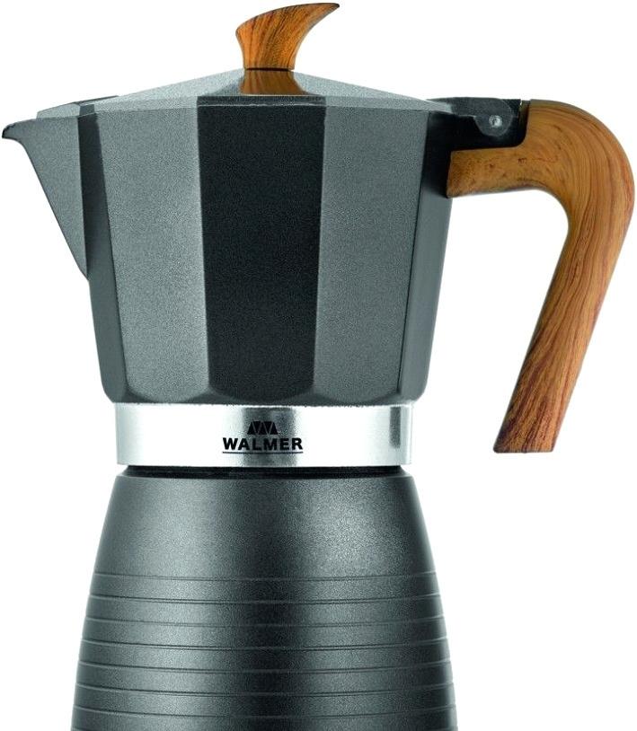 Гейзерная кофеварка Walmer Blackwood