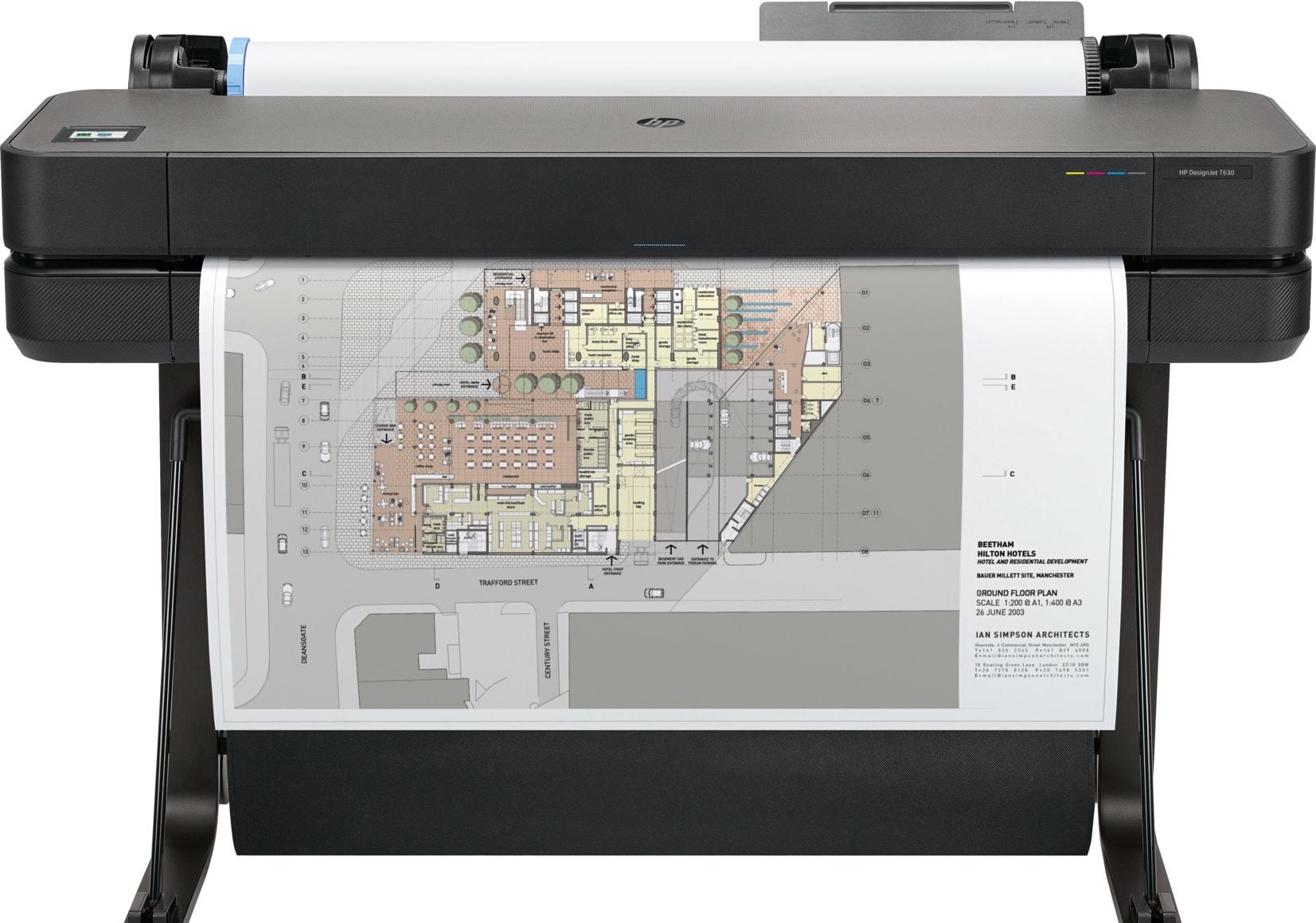 Плоттер HP DesignJet T630 (36-дюймовый)
