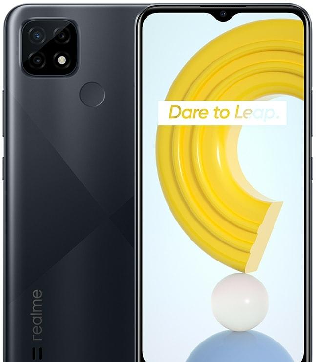 Смартфон Realme C21 RMX3201 3GB/32GB (черный)
