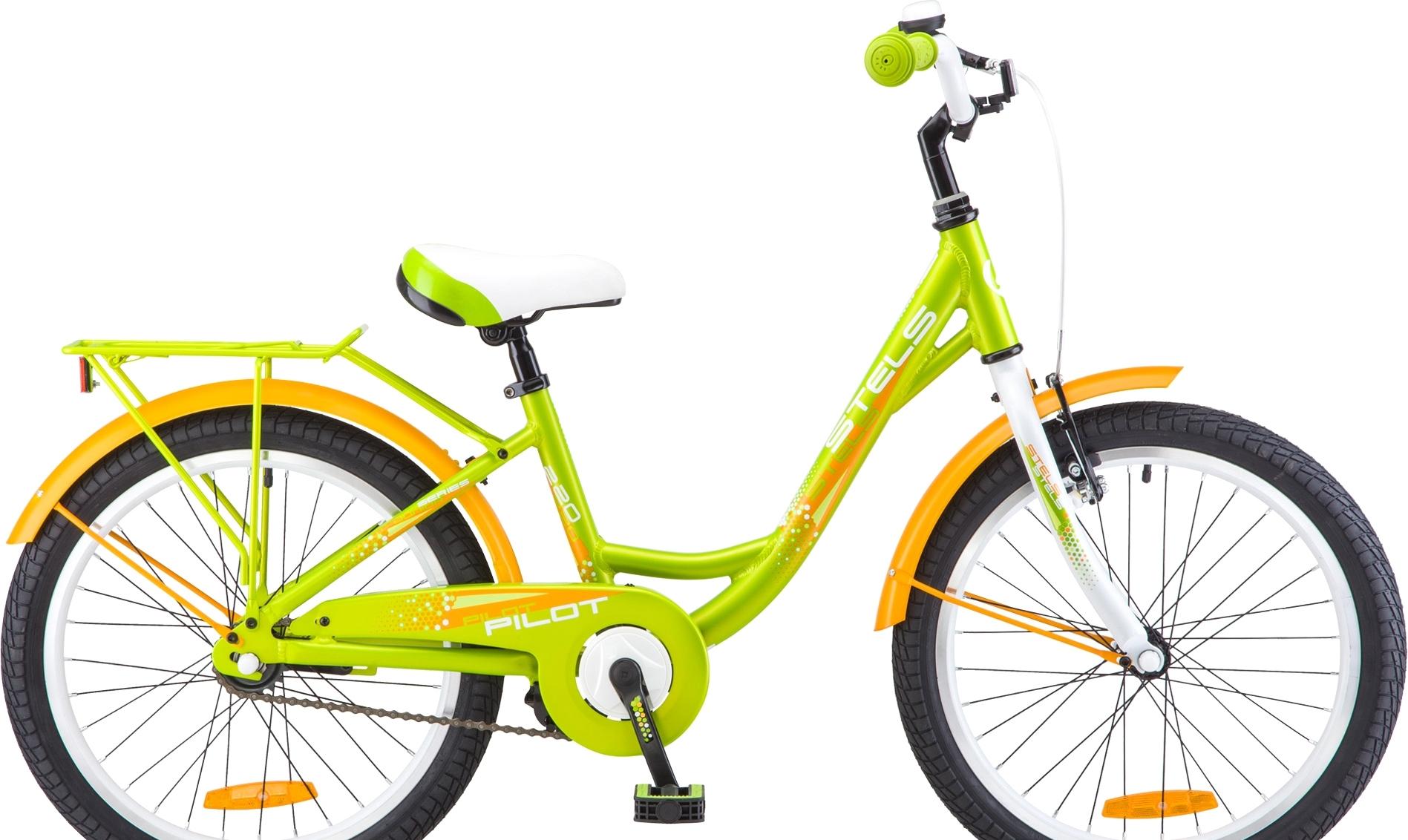Детский велосипед Stels Pilot 220 Lady 20 V010 (зеленый, 2019)