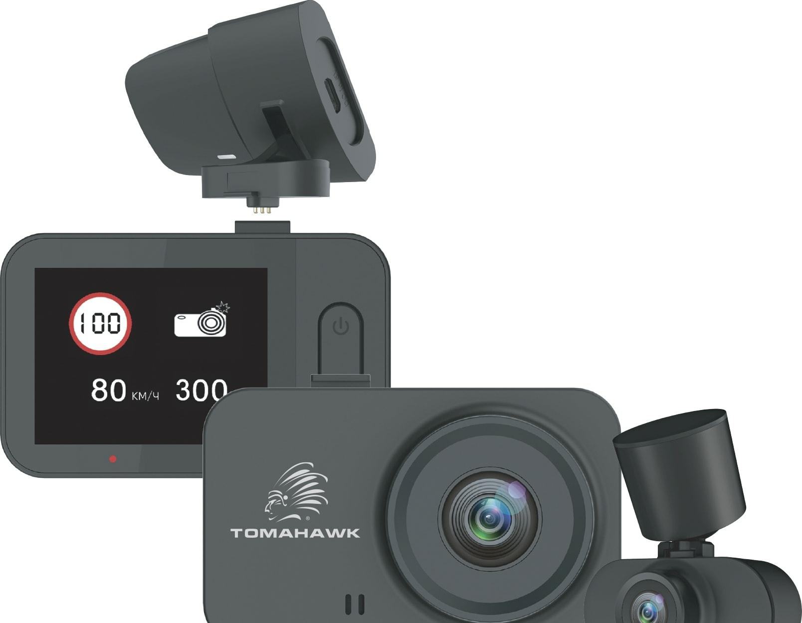 Видеорегистратор-GPS информатор (2в1) Tomahawk X4 GPS 2