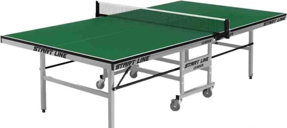 Теннисный стол Start Line Leader (зеленый)